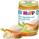 Hipp喜寶天然花椰菜小牛肉飯全餐220gx6罐 630元