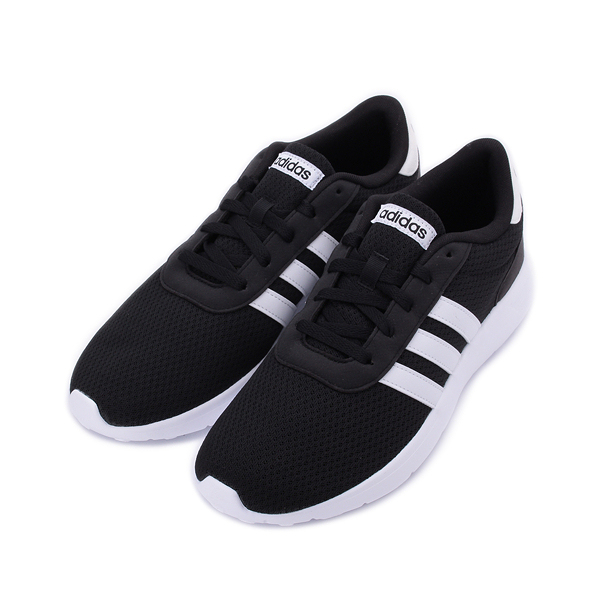 ADIDAS NEO LITE RACER 休閒運動鞋 黑白 BB9774 男鞋