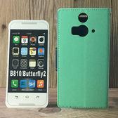 ◎福利品側翻皮套 HTC Butterfly 2 蝴蝶2 B810 B810X 撞色皮套 可立式 插卡 保護套 手機套