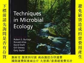二手書博民逛書店Techniques罕見In Microbial Ecology-微生物生態學技術Y436638 Robert