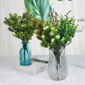 仿真花束 滿天星客廳裝飾花室薰衣草內塑料花擺設插花 仿真花擺件yoki