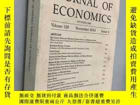二手書博民逛書店THE罕見QUARTERLY JOURNAL OF ECONOMICS FOUNDED 1886 Volume 1