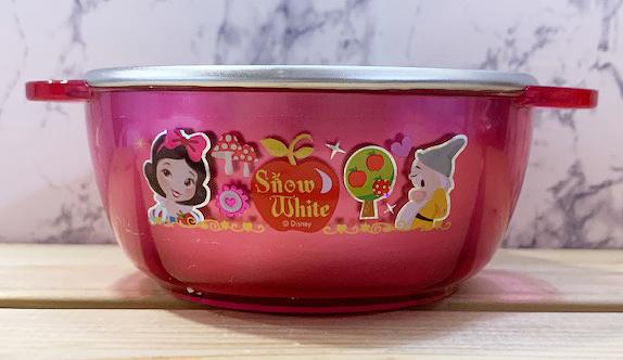 【震撼精品百貨】白雪公主七矮人_Snow White~韓國 迪士尼公主系列雙把不銹鋼碗#05749