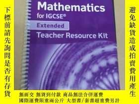 二手書博民逛書店Pemberton罕見Maths for IGCSE Extended: Teacher Resource Pac