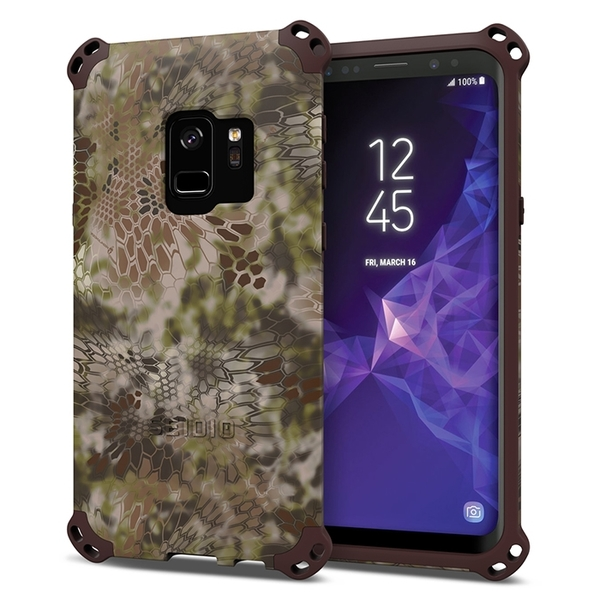 SEIDIO DILEX2018 x KRYPTEK 軍規級四角防撞手機保護殼 for Samsung Galaxy S9