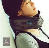 旅行午睡頸蓋毯圍巾三合一多用護腰迷彩U型枕yhs1652【123休閒館】