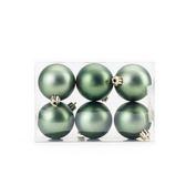 吊飾球6入組 霧面橄欖綠 6cm