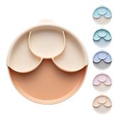 Miniware 天然聚乳酸兒童學習餐具 聰明分隔餐盤組(附吸盤) (6款可選)