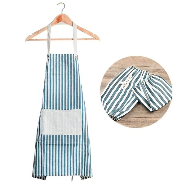 簡約 做飯防油 廚房防水 圍裙 限時八八折