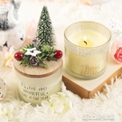 香氛聖誕蠟燭香薰蠟燭無煙凈化空氣大豆香薰杯禮盒裝無煙精油蠟燭 新北購物城