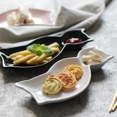 創意卡通分格兒童盤餐貓型可愛點心碟盤西餐廳菜盤子家用陶瓷餐具 居享優品