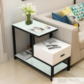 簡約現代客廳邊幾櫃沙發邊角櫃移動小邊茶几迷你臥室床頭邊櫃北歐  韓慕精品 YTL