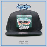 M&N MITCHELL&NESS SNAPBACK棒球帽 馬刺 黑蒂綠 隊名LOGO MN6BHA12SASF☆SP☆