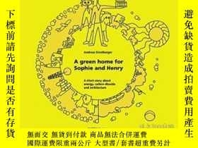 二手書博民逛書店Detail罕見Kids- A Green Home For S