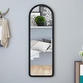 居家鏡子 鏡子全身鏡長壁掛鏡簡約寢室穿衣鏡服裝店試衣鏡【免運直出】
