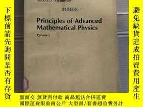 二手書博民逛書店principles罕見of advanced mathematical physics volume 1(P18