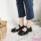 娃娃鞋 平底日系瑪麗珍女單鞋可愛圓頭學生娃娃鞋女(3色/35-39)