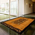 【范登伯格進口地毯】拉斯狂野絲質地毯-農鄉(黑)140x190cm