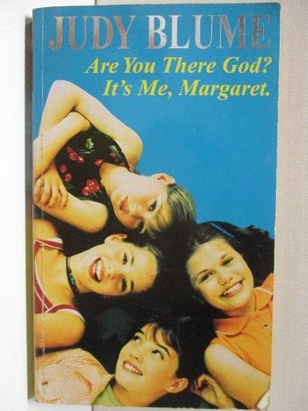 【書寶二手書T4/原文小說_AJE】Are You There God? It s Me, Margaret