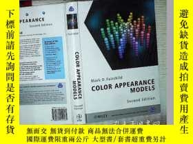 二手書博民逛書店COLOR罕見APPEARANCE MODELS SECOND