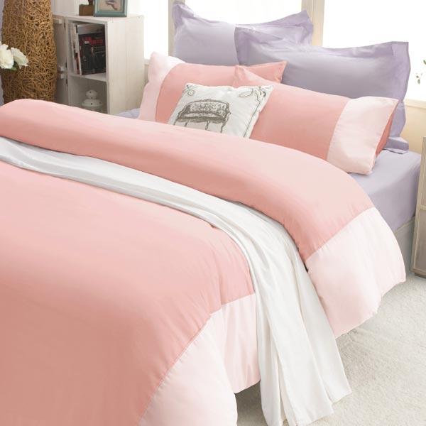 絲光精梳棉 雙人4件組(床包+被套+枕套) 彩色公園-夢婚禮 BUNNY LIFE