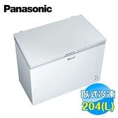 國際 Panasonic 204公升上掀式冷凍櫃 NR-FC208W