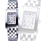 【滿額禮電影票】LONGINES 浪琴 DolceVita 獨立小秒針優雅女錶-銀 L51554716
