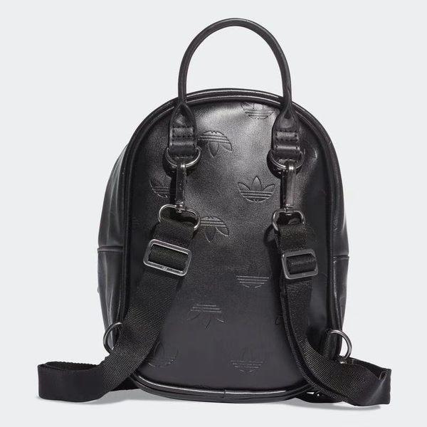 愛迪達 ADIDAS 三葉草 2019迷你後背包 小PU背包 S19946 皮革肩背包 黑色/澤米