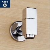 AZOS方形全銅洗衣機水龍頭陽臺洗衣池拖把池龍頭快開單冷龍頭【網嘴水龍頭(方形)】