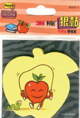3M 625S-7狠黏蘋果可再貼便條紙