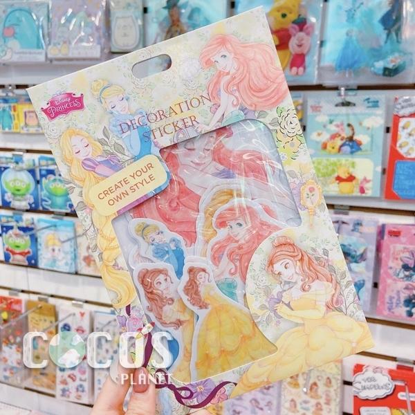 迪士尼壁貼 美人魚 迪士尼公主 人魚公主 艾莉兒 壁貼防水貼行李箱貼裝飾貼汽機貼 COCOS FW150