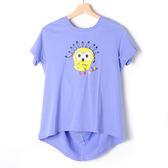 【Dailo】小鳥造型T恤-紫 10601