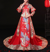 (45 Design) 高雄實體店面 7天到貨 中式嫁衣禮服龍鳳褂結婚敬酒服旗袍秀和服10