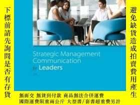 二手書博民逛書店Strategic罕見Management Communication For LeadersY307751