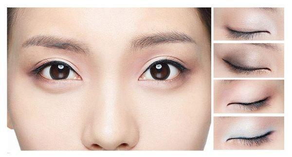 Star - 其他類 - 四色眼影盒裸妝眼影盤珠光煙熏妝組合持久不暈染