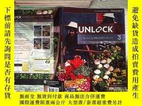 二手書博民逛書店Unlock罕見Listening & Speaking Skills 3 開啟聽說能力3Y261116