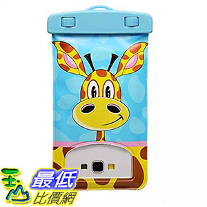 [106美國直購] 防水手機袋 WTP NTECeaq Waterproof Phone Case Bag Cartoon style iPhone 6 Plus