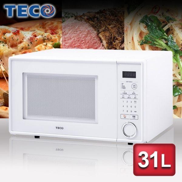 TECO東元31公升 微電腦微波爐(YM3102CBW)