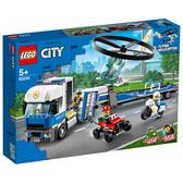 樂高積木 LEGO《 LT60244》City 城市系列 - Police Helicopter Transport╭★ JOYBUS玩具百貨