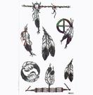 薇嘉雅  印地安羽毛  紋身貼紙 HM6...