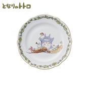 【SAS】日本限定 宮崎駿 龍貓 森林蘑菇版 陶瓷 圓盤 / 盤子 / 餐盤