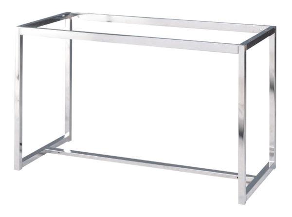 【 IS空間美學】歐杜邦桌腳 (4尺用/電鍍)