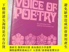 二手書博民逛書店The罕見voice of poetry: an antholo