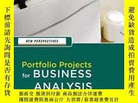 二手書博民逛書店New罕見Perspectives: Portfolio Projects For Business Analys