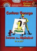 CURIOUS GEORGE LEARNS THE ALPHABET 英文繪本附CD (OS小舖)