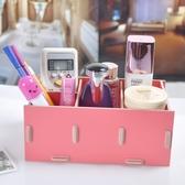 文具收納盒木質化妝盒 DIY 收納盒桌面 收納盒【M05 】米莎misha