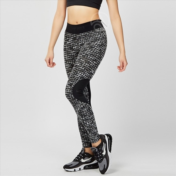 Nike Pro Hyperwarm 女子 黑色 保暖 緊身 訓練 束褲 933306-010