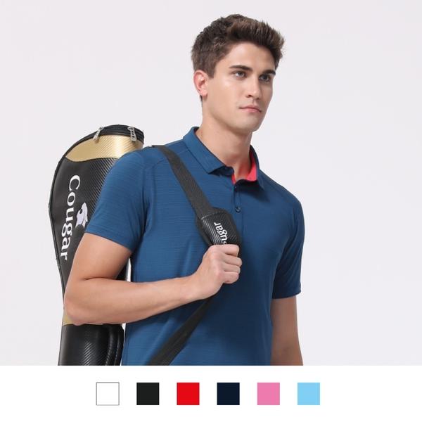 【晶輝團體制服】LS9309-快速排汗,吸溼排汗短袖滾邊配色POLO衫素面款式(印刷免費)