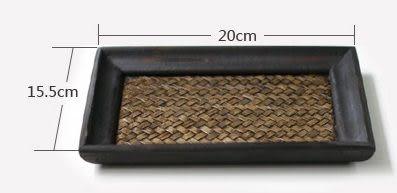 木質小茶盤 糖果盤 方形托盤
