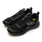 LIKA夢 LOTTO 專業輕量透氣避震慢跑鞋 OVERTHROW系列 黑灰 2150 男